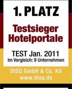 HRS gewinnt Hotelportal-Auszeichnung