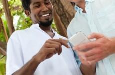 Elektronischer Service im Conrad Maldives Rangali Island