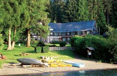 Lake Quinault Lodge im Olympic Nationalpark