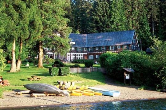 Lake Quinault Lodge im Olympic Nationalpark