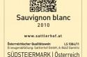 Quick Response-Code Weingut Sattlerhof