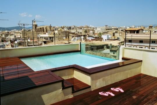 Dachterrasse Hotel TRES Mallorca