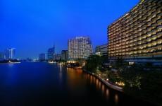 Das Hotel Shangri LaBangkok am Chao Phraya